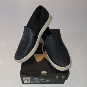 Under Armour slip on sneakers